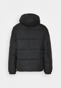 adidas Originals - HOODED PUFF - Zimní bunda - black - 1