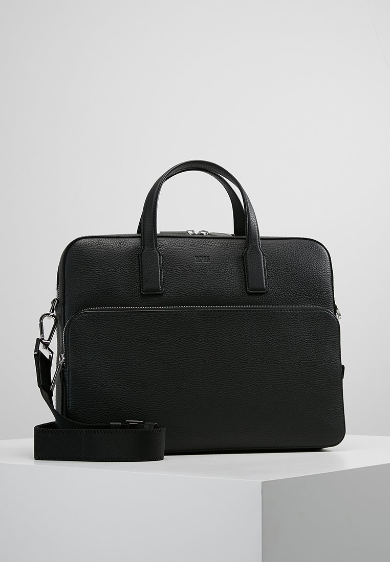 BOSS - CROSSTOWN DOC CASE - Aktetas - black