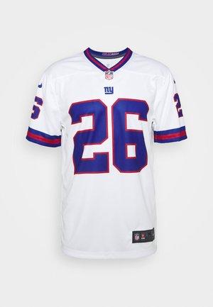 NFL NEW YORK GIANTS SAQUON BARKLEY - Club wear - white