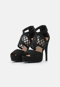 Anna Field - COMFORT - High heeled sandals - black - 2