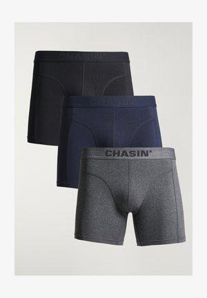 3 PACK - Pants - dark blue