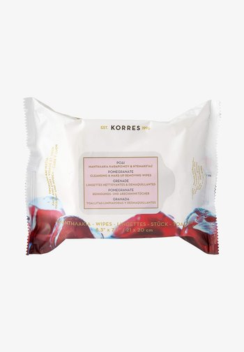 POMEGRANATE CLEANSING & MAKE-UP REMOVING WIPES 25 PIECES