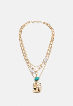FGMIA COMBI NECKLACE - Smykke - gold-coloured