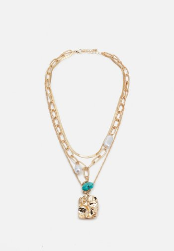 FGMIA COMBI NECKLACE - Necklace - gold-coloured