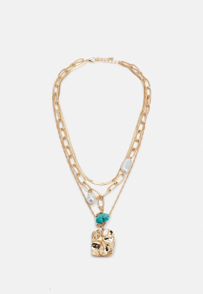 Fire & Glory - FGMIA COMBI NECKLACE - Necklace - gold-coloured