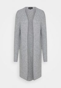 Ecoalf - CABO LONG WOMAN - Cardigan - light grey - 0