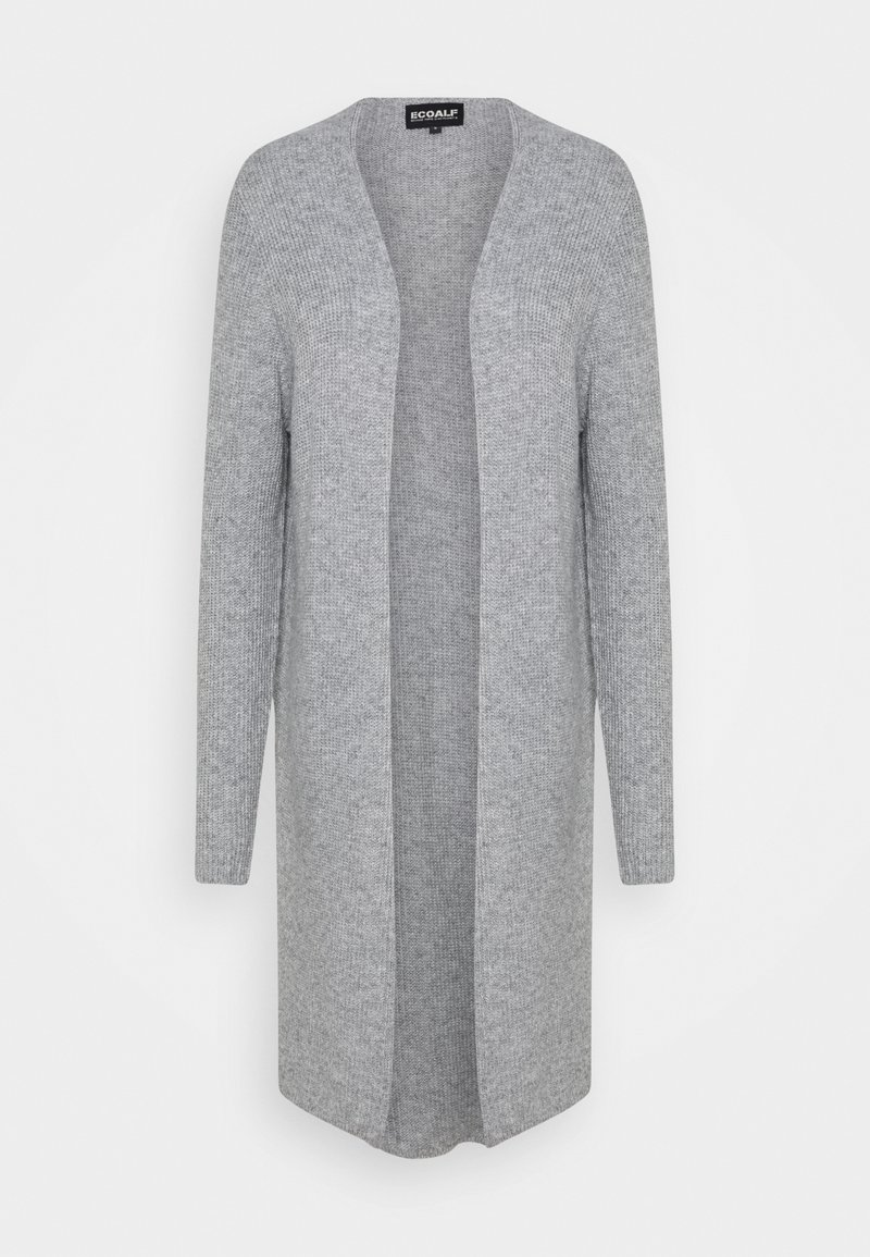 Ecoalf - CABO LONG WOMAN - Cardigan - light grey