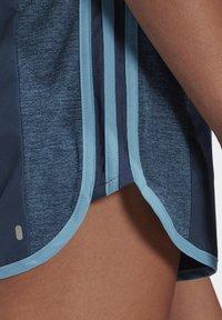 adidas Performance - MARATHON 20 COOLE RESPONSE AEROREADY RUNNING SHORTS - Pantaloncini sportivi - crew navy/hazy blue - 3