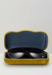 Gucci - Solbriller - black/black/grey - 3