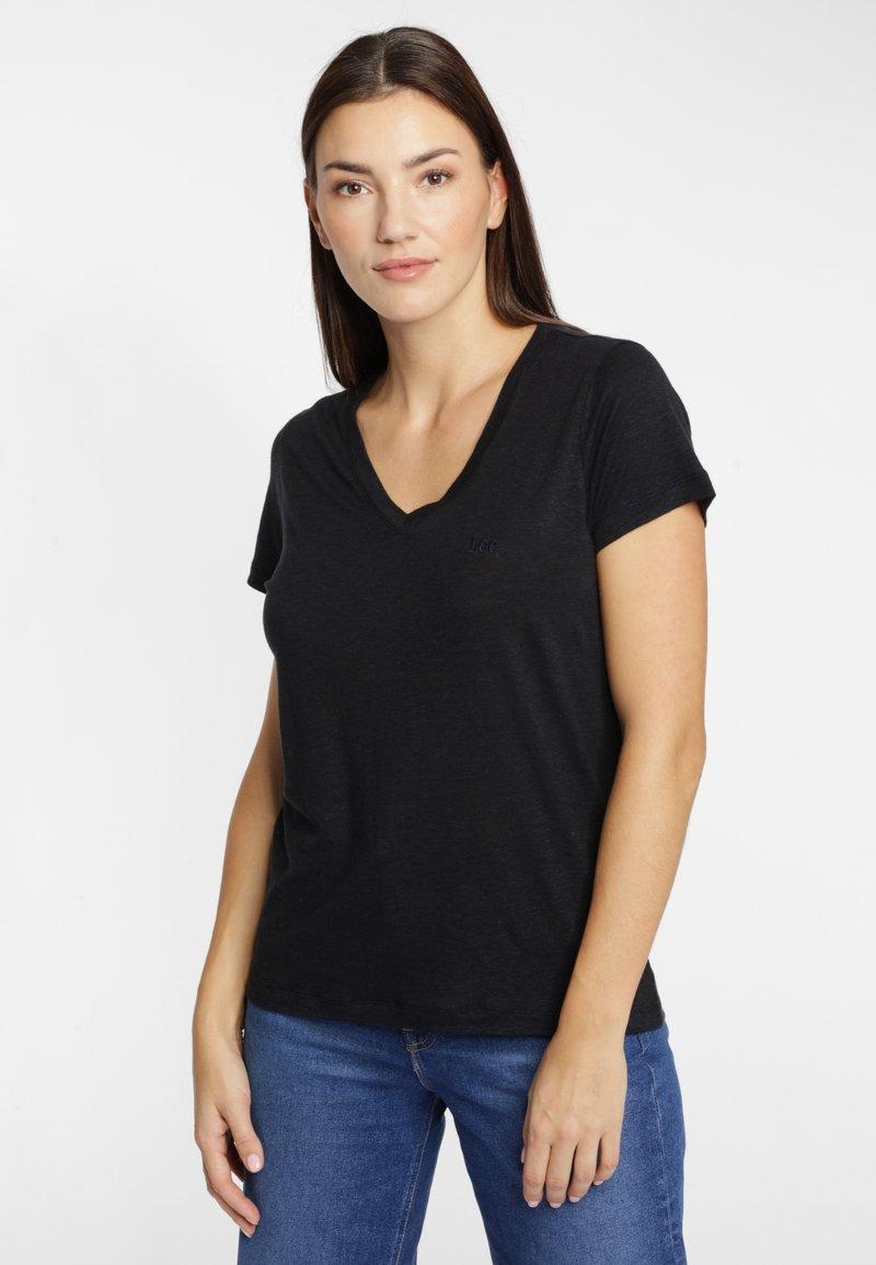 Lee - T-shirt basic - black