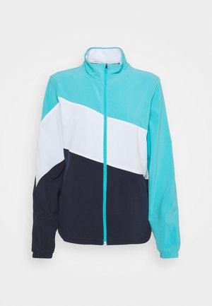TRACK JACKET - Training jacket - navy blazer/scuba blue