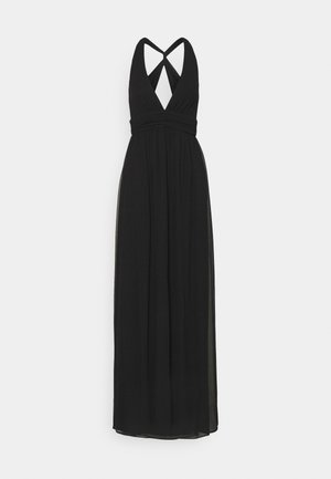 LOVEABLE CROSS BACK GOWN - Iltapuku - black