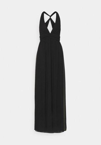 LOVEABLE CROSS BACK GOWN - Společenské šaty - black
