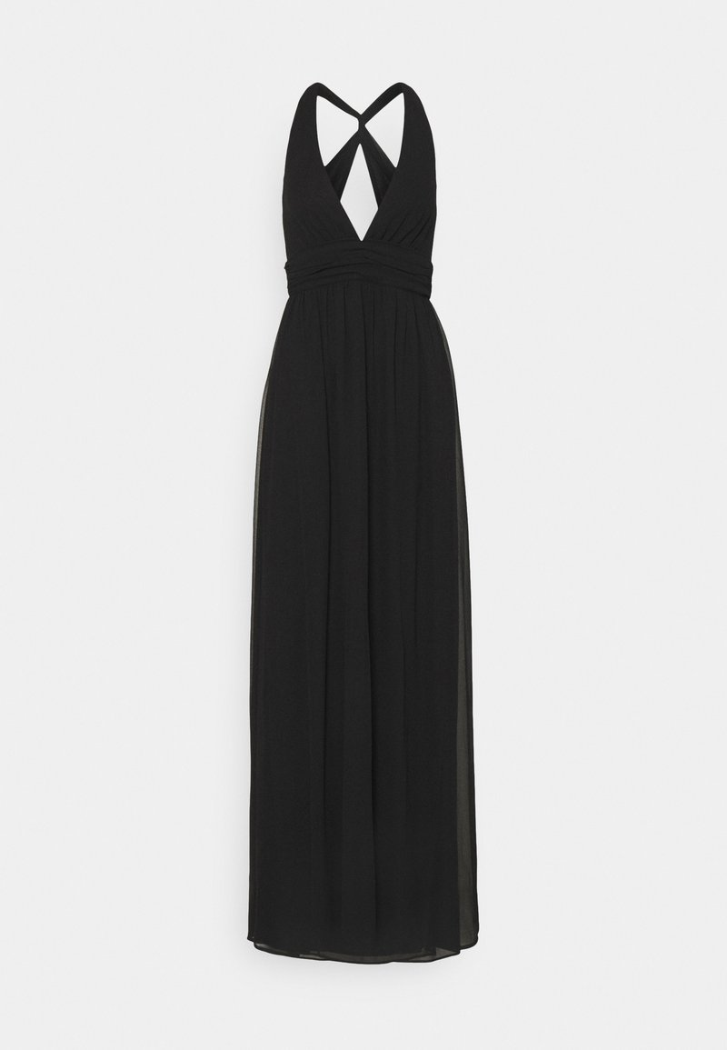 Nly by Nelly - LOVEABLE CROSS BACK GOWN - Festklänning - black