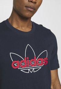 adidas Originals - GRAPHIC - T-shirt imprimé - legend ink - 5