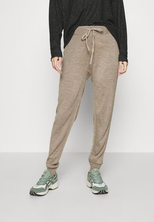 ONLAUBREE LOOSE PANTS  - Trainingsbroek - camel melange