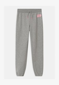 GAP - GIRL LOGO - Spodnie treningowe - grey - 0