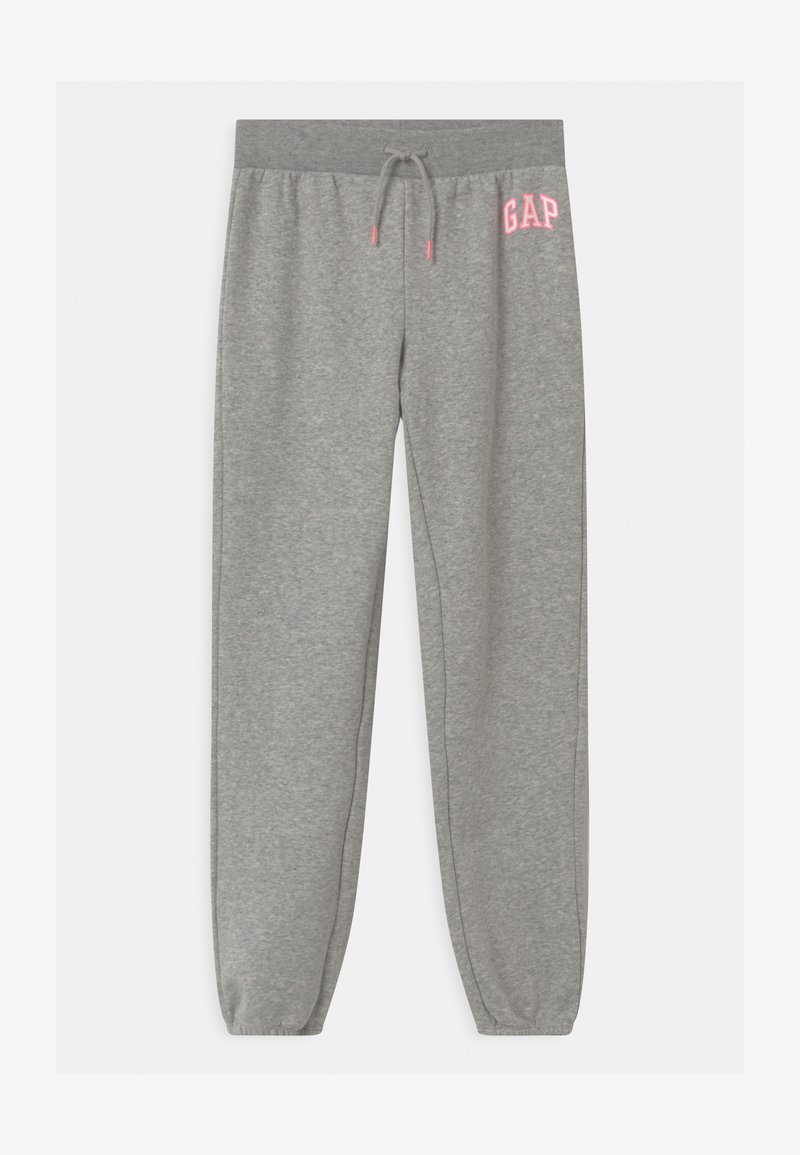 GAP - GIRL LOGO - Tracksuit bottoms - grey