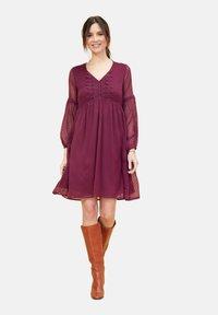 La Fiancée du Mékong - Day dress - dark purple - 1