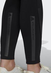 adidas by Stella McCartney - TRUEPURPOSE TIGHTS - Punčochy - black - 6