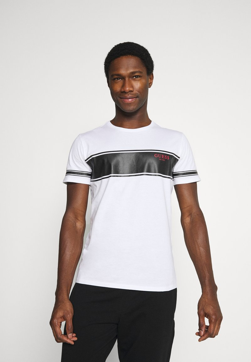 Guess - TEE - T-shirt con stampa - white