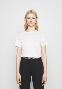 Even&Odd - 2 PACK - T-shirt basic - black/white - 1
