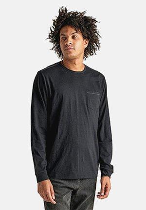 WELL WORN - Long sleeved top - black