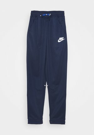 TAPERED PANT - Tracksuit bottoms - midnight navy/white