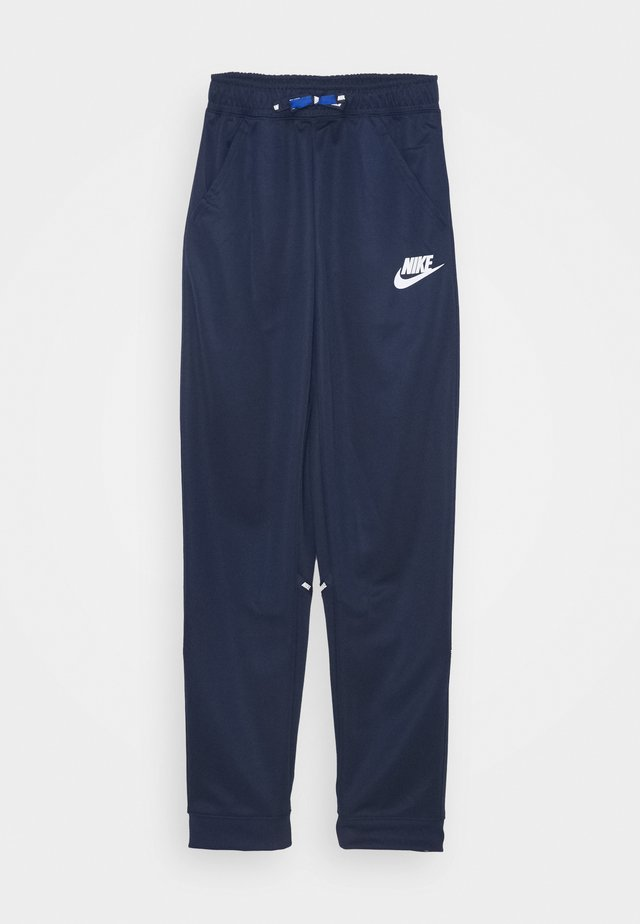 TAPERED PANT - Pantalones deportivos - midnight navy/white