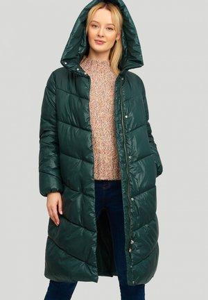 Płaszcz zimowy - dark green