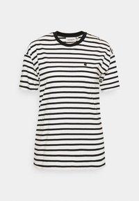 Carhartt WIP - ROBIE - T-shirt print - wax/black - 5