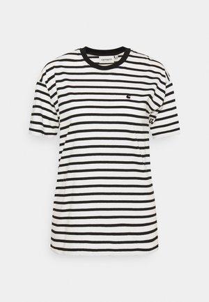 ROBIE - Camiseta estampada - wax/black