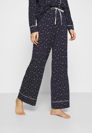 PIPING PANT - Pyjama bottoms - navy