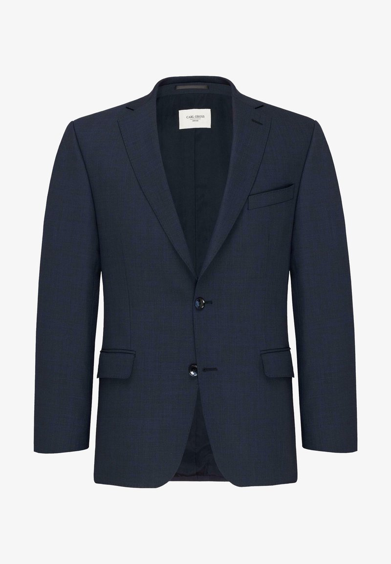 Carl Gross - Blazer jacket - dunkelblau meliert