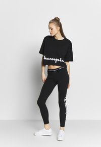 Champion - LEGGINGS - Trikoot - black - 1