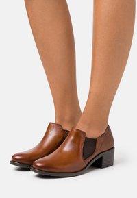 Bugatti - RUBY ECO - Ankle boots - cognac - 0