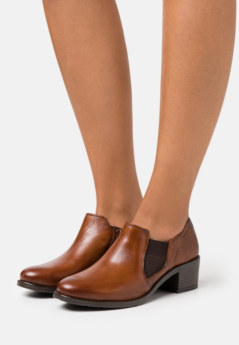 Bugatti - RUBY ECO - Ankle boots - cognac