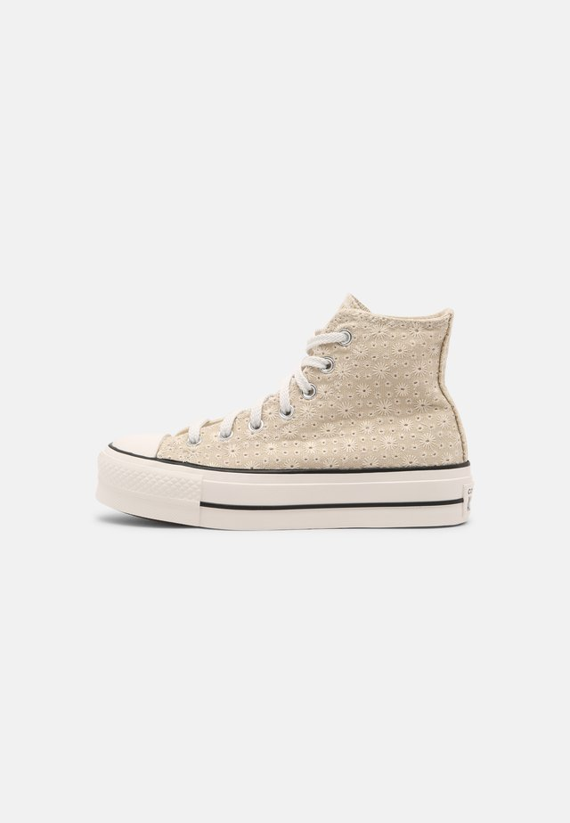 CHUCK TAYLOR ALL STAR LIFT - Baskets montantes - farro/natural ivory/vintage white