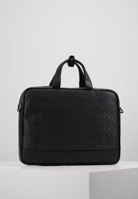 Calvin Klein - INDUSTRIAL MONO SLIM LAPTOP BAG - Aktovka - black - 2
