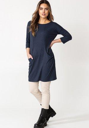 LINDEN  - Jersey dress - blue