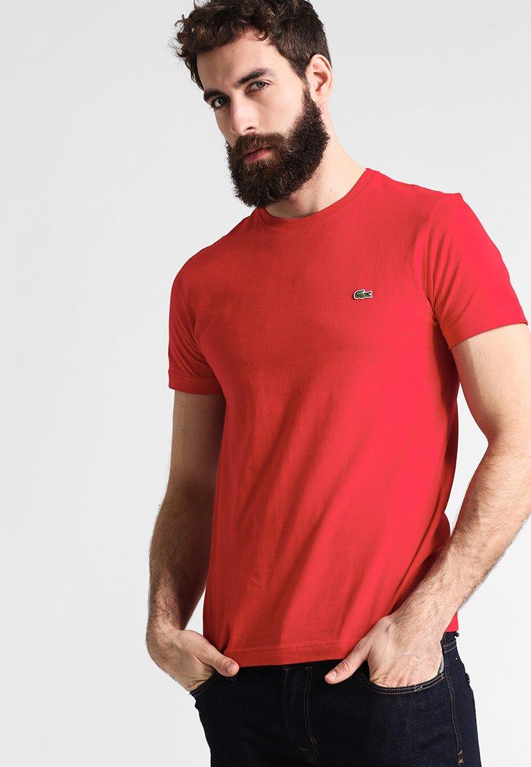 Lacoste - T-shirt basique - rouge