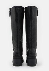 Marco Tozzi - BOOTS - Platåstøvler - black antic - 3