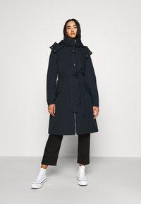 Danefæ København - BORNHOLM RAINCOAT - Waterproof jacket - dark navy - 0
