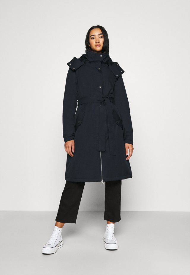 BORNHOLM RAINCOAT - Vodotěsná bunda - dark navy