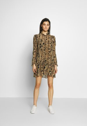 ROBE - Day dress - black/beige