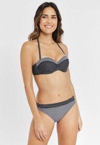 s.Oliver - Bikini bottoms - black - 1