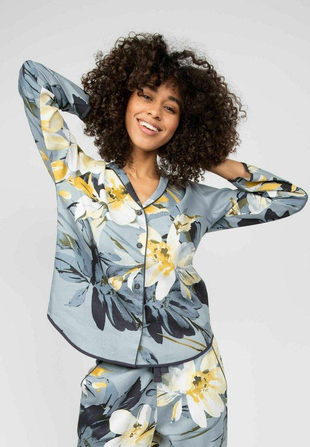 RACHEL  - Pyjamashirt - charcoal floral print