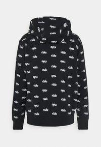 Nike Sportswear - CLUB HOODIE SCRIPT - Hoodie - black/white - 6
