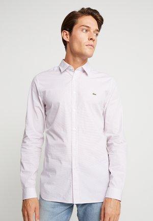 Overhemd - white/navy blue/alizarin