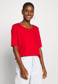 Esprit - Basic T-shirt - dark red - 0